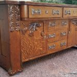 Restored Oak Buffet